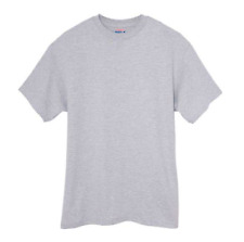 HANES 'BEEFY' TWIN-PACK T-SHIRTS/GREY - 3XL