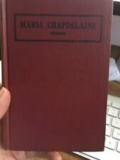 Maria Chapdelaine hb book 1943 Louis Hemon in french Box D
