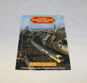 HORNBY TRACK PLANS BOOKLET SIXTH EDITION R166 1987