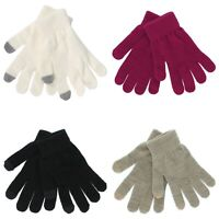 SO Magic Texting Gloves for Girls - Touchscreen Compatible - One Size