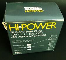 COIL Hi Power Transformer Plug for COIL Halogen & Xenon Magnifiers 5226/16