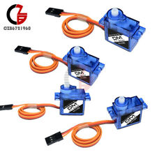 4PCS Micro Mini 9G SG90 RC Servo Motor Gear For RC Helicopter Airplane Boat Car