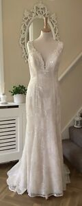 Absolutely Stunning Kenneth Winston Wedding Dress Size 8 Bride Bridal