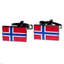 Norway Flag Cufflinks X2BOCF042