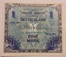 Allemagne GERMANY BILLET 1 MARK SERIE 1944 ALLIANCE MILITAIRE WWII BON ETAT