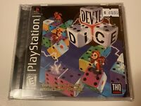 🔥 DEVIL DICE 🎲 PS1 - PlayStation 1 PSX GAME 💯 COMPLETE RARE MINT BLACK LABEL