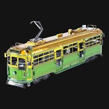 Metal Earth Melbourne W-Class Tram DIY laser cut 3D steel model kit