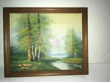 SIGNED R. Thomas Oil Painting