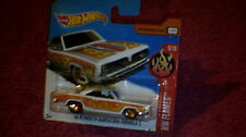 Hot Wheels - UK Card - #87 '68 Plymouth Barracuda Formula S - White
