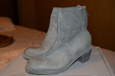 Guidi amazing iced blue ankle boots