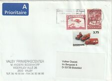 2002 Denmark cover from Kobenhavns(Kopenhgen) to Bielefield Germany