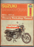 Suzuki GS1000 (1977-1979) Haynes Shop Manual Repair Book GS 1000 E S H L CV33