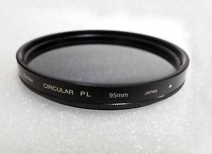 95mm Professional Circular Polarizer Filter C-PL Kenko - Tokina Made in Japan