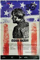 Poster Easy Rider Nicholson Fonda Hopper Motorrad Chopper Hippy Drug Kino M100