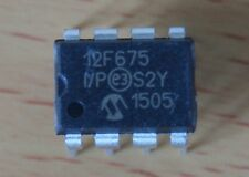 PIC12F675 I/P 8 pin DIP Microchip New