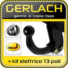Renault Clio B II 1998-2005 gancio traino fisso + kit elettrico 13 poli