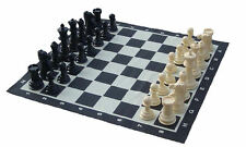 20cm (8 Inch) High Giant Plastic Chess Set and Mat