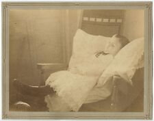 POSTMORTEM IMAGE OF YOUNG CHILD 8X10 VINTAGE PHOTO