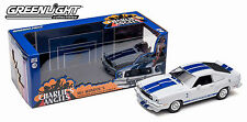 WHITE 1976 FORD MUSTANG II COBRA II GREENLIGHT DIECAST METAL 1:18 SCALE AUTO