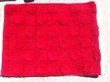 Red Dotty Bath Mat - 50cm x 80cm