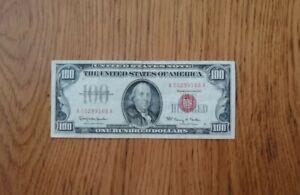 USA $100 Dollar 1966 Legal Tender Note. Super Zustand!!! RARE!!!!