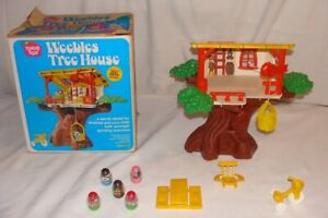 Vintage Weebles Treehouse Tree House Complete 1975 Romper Room Hasbro