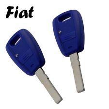 2x Fiat Autoschlüssel Ersatz Gehäuse 1-Taste Fernbedienung mit Rohling KS01ANO