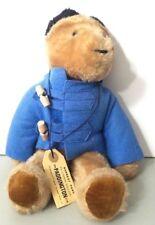 "Vintage Plush Paddington Bear Stuffed Teddy Eden Toys 13"" Darkest Peru 1975"