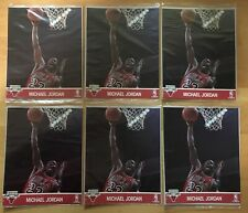 Michael Jordan Large Lot Of 6 Action Photos 1990-91 Hoops Unopened New Rare Mint