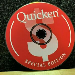 Vintage 1996 Quicken SE Special Edition Replacement CD