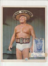 FRED BLASSIE ORIGINAL AUTOGRAPH  WRESTLING PHOTO  8 X 10  WWE NWA