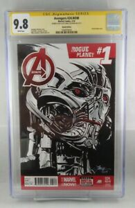 AVENGERS ROGUE PLANET #24.NOW CGC 9.8 ULTRON HAND DRAWN SKETCH COVER
