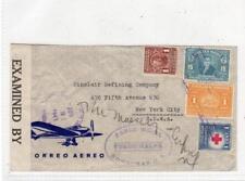 HONDURAS: 1942? Censored Airmail cover to USA (C36359)
