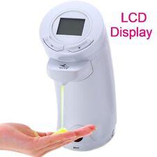 LCD 250ml Automatischer Seifenspender Seifendosierer mit Infrarot Sensor f Küche