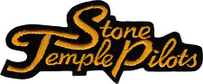 Patch - Stone Temple Pilots Cursive Logo 90s Band Hard Rock Music Iron On 9494