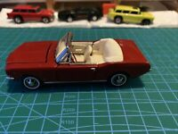 franklin mint 1:43 scale 1965 Ford Mustang Convertible.