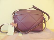 Radley Burgundy Fenchurch Street Quilted Leather Shoulder Bag -