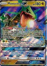 Tempête le firmament-FULL ART HOLO-Allemand Pokémon Rayquaza GX 160//168