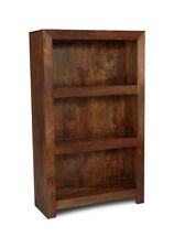 DARK DAKOTA MANGO SOLID MEDIUM BOOKCASE (55N)