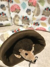 Fall hedgehog- snuggle sack-  animal Bonding Bag - Hedgehog -guinea Pig