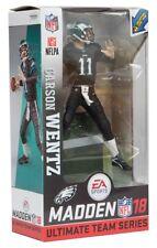 McFarlane NFL EA Sports Madden 18 Series 1 Carson Wentz black jersey - Rookie