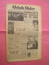 MELODY MAKER. OCT 18th 1952. JAZZ & SWING etc. MUSIC MAGAZINE. VINTAGE MAG
