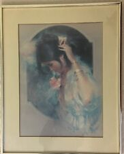 """Vintage Alan Murray Signed & Framed Print """"No Other"""" by Ira Roberts"""