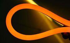 Orange 50FT Neon LED Rope Light In/Outdoor Lighting Flex Tube Decor Lights 110V