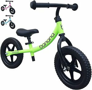Banana LT Balance Bike - Lightweight for Toddlers, Kids - 2,3,4 Year Olds