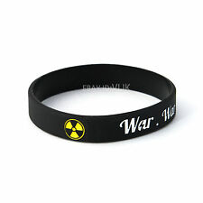 fallout 4 war never changes style silicone bracelet wristband