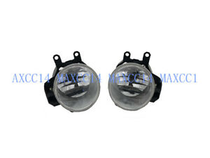 Pair Left and Right Clear Front Fog Lights Bumper Lamps For Lexus ES250 2013