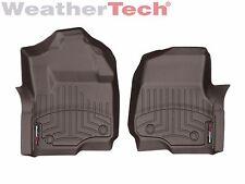 WeatherTech Floor Mats FloorLiner for Ford Super Duty - 2017 - 1st Row - Cocoa