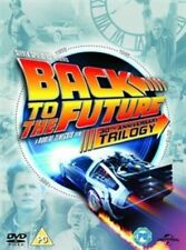 Back to The Future Trilogy DVD Region 2 30th Anniversary