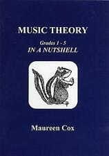 Music Theory In a Nutshell Grades 1-5, Maureen Cox SUBJECT1